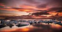Jokulsarlon Sunset 2